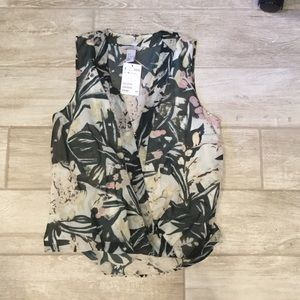 Brand new H&M wrap top